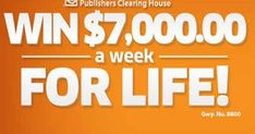 pch 10000 a week for life sweepstakes Car Sweepstakes, Instant Win Sweepstakes, Helping Other People, Helping Others, 10 Million Dollars, Online Cash, Publisher Clearing House, Winning Numbers, Cash Prize