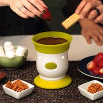 VELATA Chocolate Fondue!!! Coming May 1... You can JOIN my Team as an Independent Consultant for just $99! Contact Jennifer Anderson at www.discoverscents.com for more info!