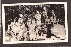 1940s Real Photo Large Group Native American Indians Pipestone MN Minnesota RPPC | eBay