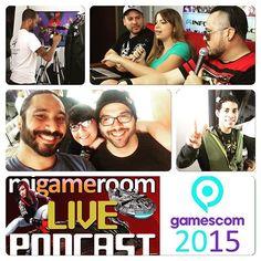 Resumen del #podcast de hoy!!! #gamescom2015 #gamescom #gaming #gamers  #videojuegos #infogamers