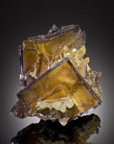 Fluorite - Minerva #1 Mine, Cave-in-Rock, Hardin Co., Illinois  mw