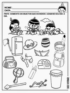 Dani Educar : DIA DO ÍNDIO