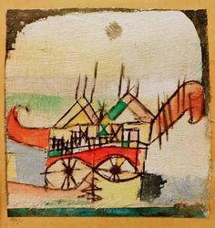 Paul Klee - Sphinxartig, 1919.2.