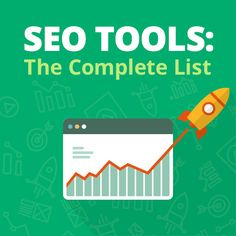 The ultimate list of SEO tools online. Over 130 tools reviewed and rated.