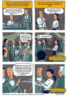 Cette petite bande dessinée explique de manière choquante de réalisme pourquoi l'égalité des chances n'existe pas