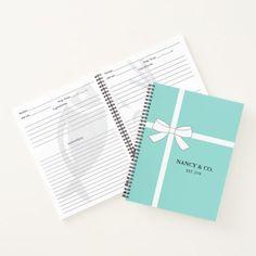 BRIDE & CO. Kitchen Shower Spiral Recipe Notebook