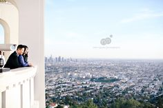 Griffith Park and Griffth Observatory Engagement Session | www.miminguyen.com