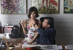 "Antonio Banderas and Elena Anaya in ""The Skin I Live In"""