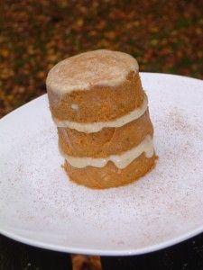 Autumn Delights | Sweetly Raw  Pumpkin Pie Bars/Cake