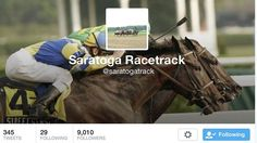 Twitter Accounts to Follow for the Saratoga Meet - America's Best Racing. The Jockey Club