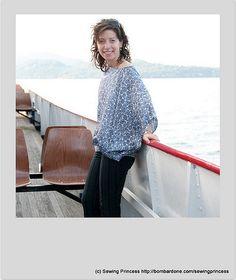Sailing on the Lake Blouse