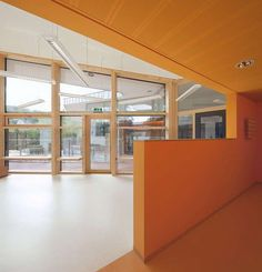 The focus of the design is on the effort the children a sense of security, communication and freedom to state. In a building that is separated from the street and open to the garden, the children c...