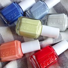 The summer of color is here to stay with the essie summer 2015 collection. These chic summer shades will inspire you to have endless summer fun.