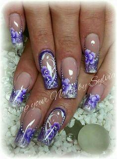 Akril paint nails