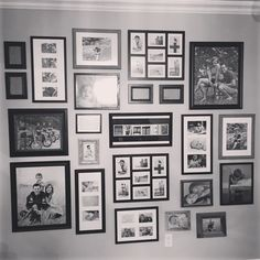 My gallery wall.