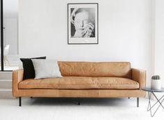 sofa cognac leder new meerdere stuks te koop