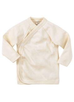Wickelhemd aus Bio-Schurwolle und Seide in 50/56 oder 62/68 zu € 22,95
