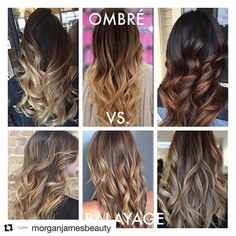 I def didn't know the diff between ombré & bayalage till now (credit ig hairextensionsguru)