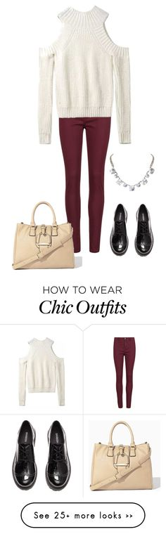 """""""#look #autumn #50"""" by lizakruglikova on Polyvore featuring Rich & Skinny, Humble Chic and H&M"""
