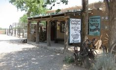 Casa-grande-trading-post-in the historic village of Cerrillos on the Turquoise Trail
