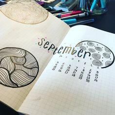 Welcome September! #bujo #monthlyspread #bulletjournal