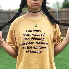Not true. The Golden Ratio, phi and the Marquardt beauty mask shows beauty a. Not true. The Golden Ratio, phi and the Marquardt beauty mask shows beauty as the symetry and placement of features REGARDLESS of race. Paper Magazine, Tumblr T Shirt, Show Beauty, Beauty News, Tumblr Outfits, Diy Outfits, Intersectional Feminism, Plus Size Shorts, Afro Punk