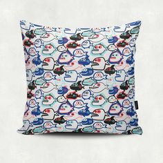 Piranha Pillow for the couch