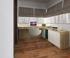 House Interior Design - Office - Oradea, Romania by Artprenta Studio www.artprenta.ro