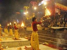 Evening Ganga Aarti at Varanasi