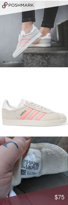 Adidas Adidas Gazelle Free Shipping Size 5.5 Us Sneakers Leather Size 10 $40