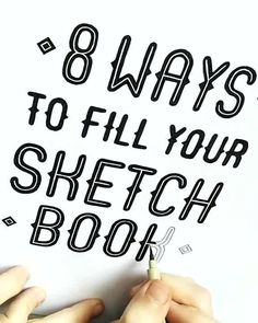 Artist who uses pattern doodles to make products unique and help you practice self-care. Doodle Fonts, Doodle Lettering, Creative Lettering, Lettering Styles, Brush Lettering, Lettering Design, Hand Lettering Quotes, Hand Lettering Tutorial, Hand Lettering Alphabet