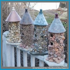 DIY And Household Tips: How To Make A Stone Birdhouse