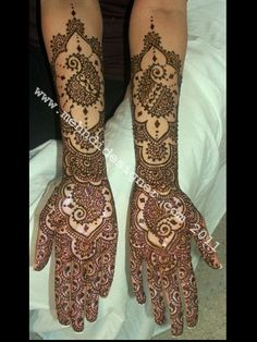 Beautiful Henna designs - 6
