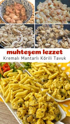 New Recipes, Cooking Recipes, Favorite Recipes, Pasta, Turkish Recipes, Food Design, Mac And Cheese, Meal Planning, Food And Drink