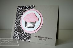 Stampin Up; Worte, die gut tuen; Geburtstagskarte