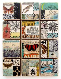 Sushipot: Fresh Collage Blocks