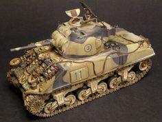 Sherman British service
