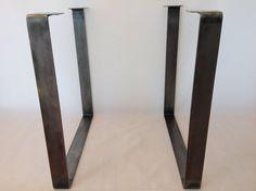 28 Table Legs Flat Steel Square Table Leg SET2 by Balasagun, $210.00