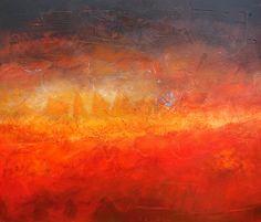 Duane Cregger, Earth Tumbler, Acrylic on Canvas, 46 x 54 in. www.duanecregger.com