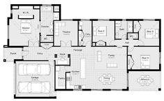 3 room house