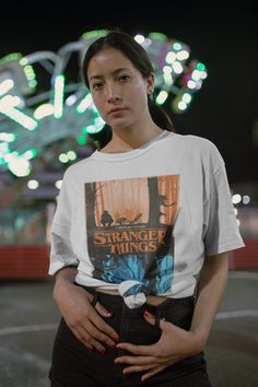 Stranger Things T-shirt (Unisex) | Netflix Series T-shirt, Eleven, Movie Poster Shirt, Short Sleeve Tee Netflix Series, Short Sleeve Tee, Stranger Things, Unisex, Tees, Mens Tops, T Shirt, Poster, T Shirts