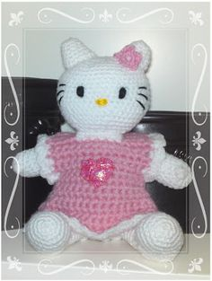Christels handarbete: Hello Kitty