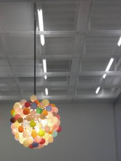 balloon glass chandelier