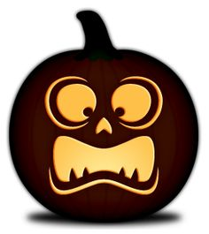 Free Pumpkin Carving Templates-Simple Faces « Orange and Black Pumpkins