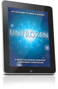 Free Children's Ministry Lesson that teaches kids that Jesus came to melt away the old, and bring new life and new kingdom.  This lesson is from the unFrozen 4-Week Children's Ministry Curriculum series.