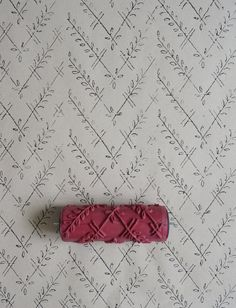 Vintage Patterned Paint Roller No.17 from by patternpaintrollers