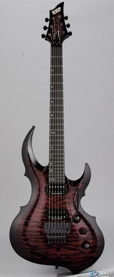 ESP FRX-CTM in See-thru Black Cherry Burst