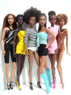 Dolls of color - Barbie