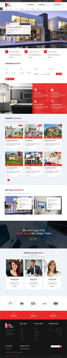 Idea homes is unique and modern design 6in1 responsive #HTML5 bootstrap template for #webdev real estate, #property, agents or constructions and properties websites download now➩ https://themeforest.net/item/idea-homes-real-estate-template/18809246?ref=Datasata