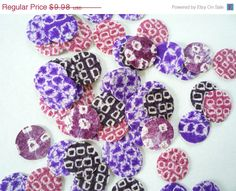 ON SALE Purple Silk Kimono Sticker Adhesive  Set of by tomoandedie